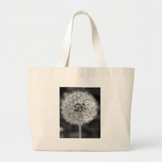 Dandelion Gone to Seed Large Tote Bag