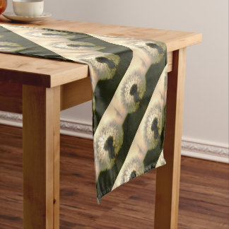 dandelion in the sun short table runner
