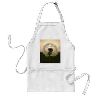 dandelion in the sun standard apron