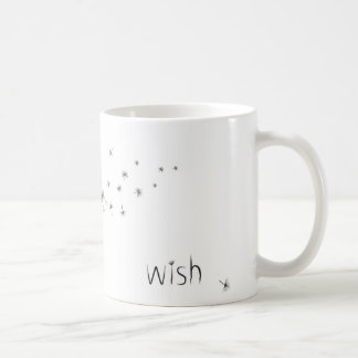 Dandelion Make a Wish Coffee Mug