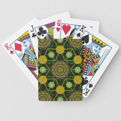 Dandelion Mandala  Array Cards Bicycle Playing Cards