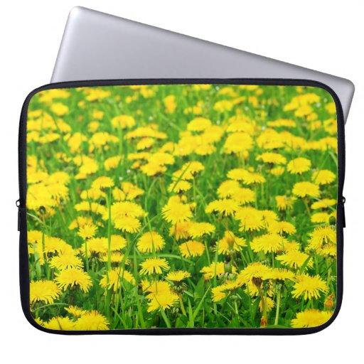 Dandelion Meadow Laptop Bag Computer Sleeve