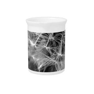 Dandelion Monochrome Pitcher