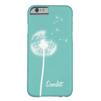Dandelion Monogram Turquoise iPhone 6/6s Case