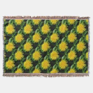 Dandelion Nature, Photo 1.0 Throw Blanket