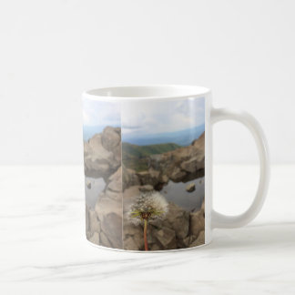 Dandelion Over a Pond Coffee Mug