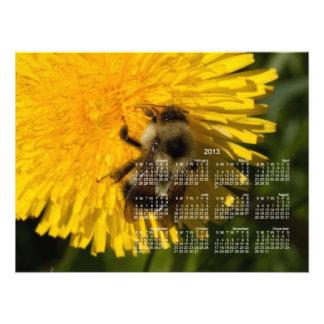Dandelion Pollenator; 2013 Calendar Photograph