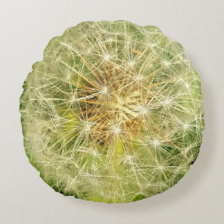 Dandelion Round Cushion