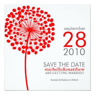 Dandelion Save the Date Announcements