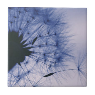Dandelion Seeds Small Square Tile