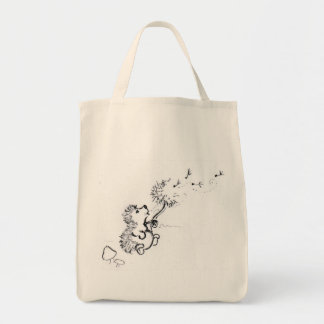 Dandelion Seeds Tote Bag