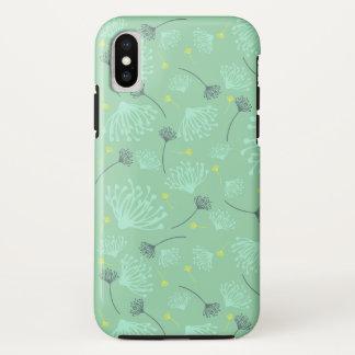Dandelion Silhouette iPhone X Case
