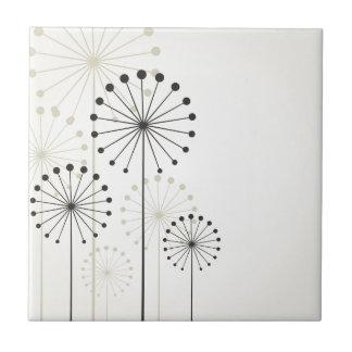 Dandelion Small Square Tile