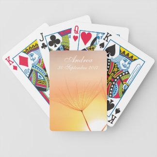 Dandelion Sunrise Poker Deck
