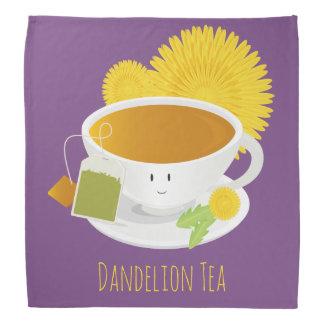 Dandelion Tea Cup Character   Bandana