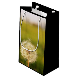 Dandelion Themed, Sweet Lonely 'Taraxacum' Dandeli Small Gift Bag
