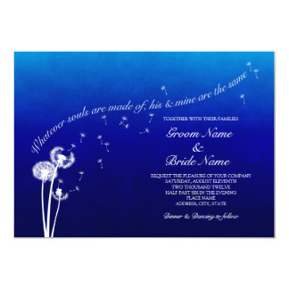 Dandelion Wedding Invitation