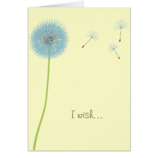 Dandelion Wish - Motivational Card