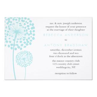 Dandelion Wishes Wedding Custom Invites