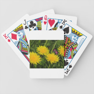 Dandelions Bicycle Playing Cards