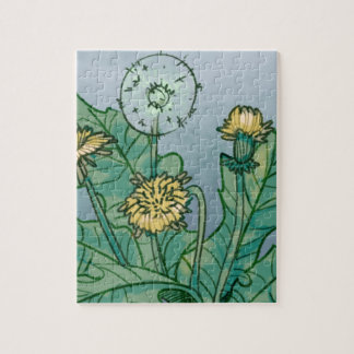 Dandelions  Illustration Jigsaw Puzzle