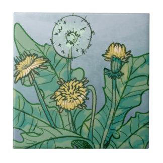 Dandelions  Illustration Tile