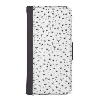 dandelions iPhone SE/5/5s wallet case