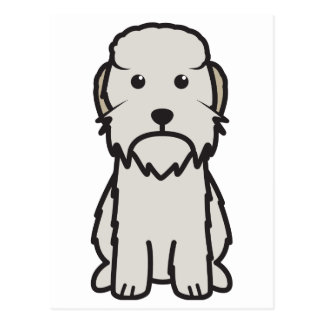 Dandie Dinmont Terrier Dog Cartoon Post Cards