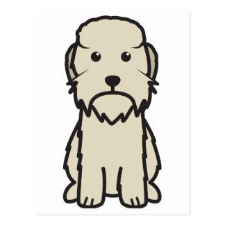 Dandie Dinmont Terrier Dog Cartoon Postcards