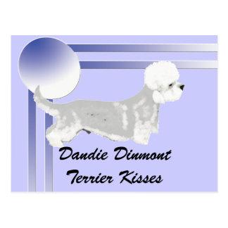 Dandie Dinmont Terrier - Kisses Postcard