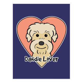 Dandie Dinmont Terrier Lover Postcard