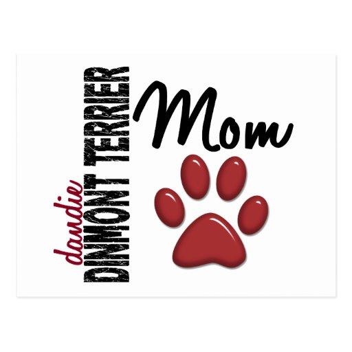 Dandie Dinmont Terrier Mom 2 Post Cards