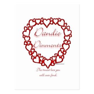 Dandie Dinmont Terrier True Love Postcard