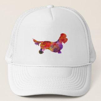 Dandie Dinmont to terrier in watercolor 2 Trucker Hat
