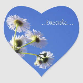 "Dandilion""Breathe"" Sticker"