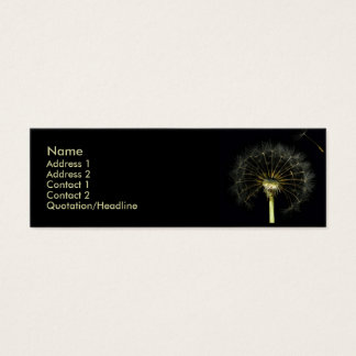 Dandilion Profile Card