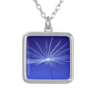 Dandilion Seed Silver Plated Necklace