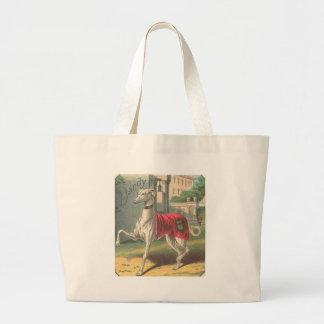 Dandy - Antique Cigar Label - Greyhound - Tote Bag