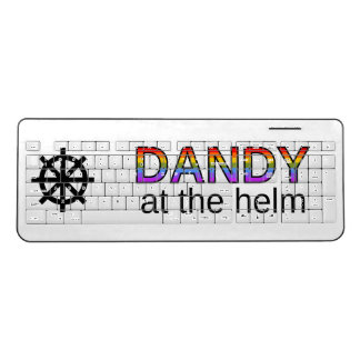 """DANDY at the helm"" Keyboard"