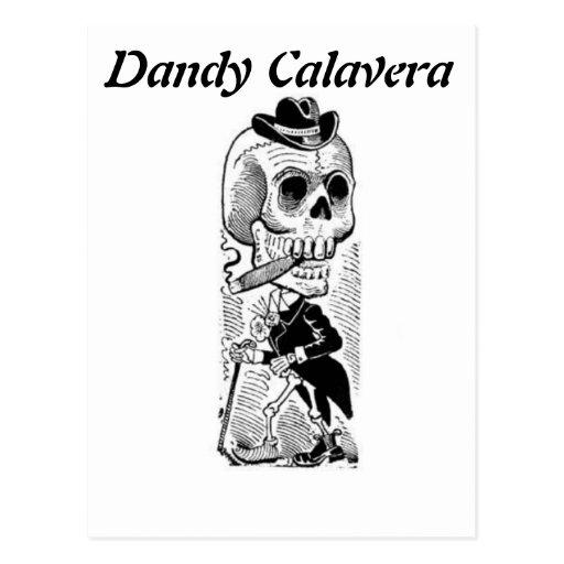 Dandy Calavera postcard