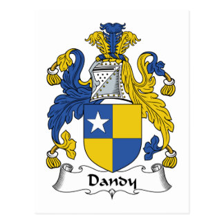 Dandy Family Crest Post Cards