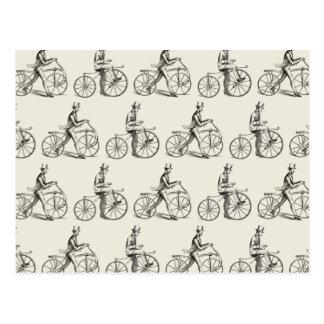 Dandy Horses (Vintage Bicycles) Postcard