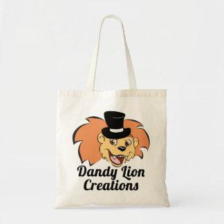 Dandy Lion Creations Logo Tote