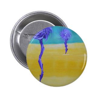 Dandy Lion Desert 6 Cm Round Badge
