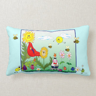 Dandy Lion Numbers & Letters American MoJo Pillow