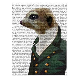 Dandy Meerkat Portrait Postcard
