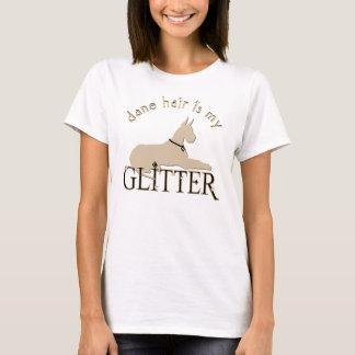 Dane Hair Is My Glitter Cropped Ears - Basic T-Shirt