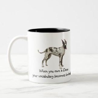 Dane Vocabulary Two-Tone Coffee Mug