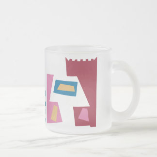 Danebod Hep Cat Frosted Glass Coffee Mug