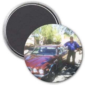 Dane's Jaguar Magnet